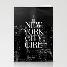 New York City Girl Black… Stationery Cards