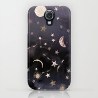 Samsung Galaxy S4 Case featuring Constellations by Nikkistrange