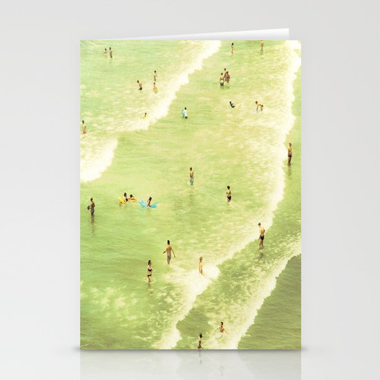 Let's Go Swimming Stationery Card