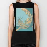 Abstraction Biker Tank