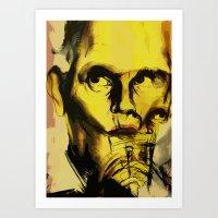 John Malkovich Art Print