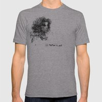 involuntary dilation of the iris Mens Fitted Tee Athletic Grey SMALL