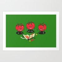 100% Tomate Natural Art Print