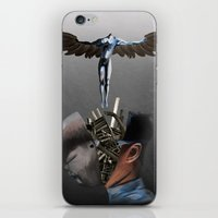 Freedom of the mind iPhone & iPod Skin