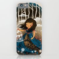 iPhone & iPod Case featuring There Once Was A Girl In A Whimsical Land by dan elijah g. fajardo