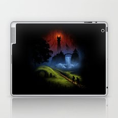 Over The Hill - The Lord Of The Rings Laptop & iPad Skin