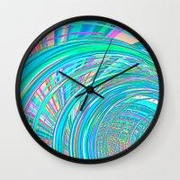Re-Created  Hurricane 7 by Robert S. Lee Wall Clock