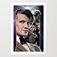Doctor Who -11th Doctor Art Print