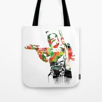 Boba Fett Print Tote Bag