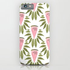 Watermelon and Leaves iPhone 6s Slim Case