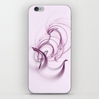 Lavender Swirls iPhone & iPod Skin