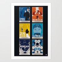 Bond #2 Art Print