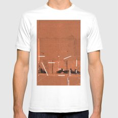 TIME OUT 39 SMALL White Mens Fitted Tee