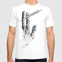2 Tools Mens Fitted Tee White SMALL