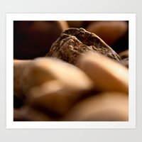 pebbles we carry Art Print