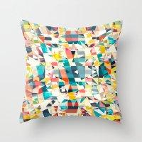 mosaic1 Throw Pillow