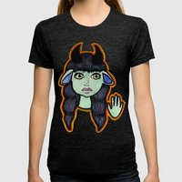 Mirth Womens Fitted Tee Tri-Black SMALL