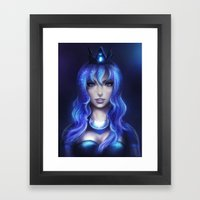 Princess Luna Framed Art Print