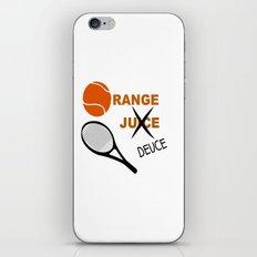 Orange Deuce iPhone & iPod Skin
