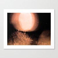 Dark Night Ruby Canvas Print