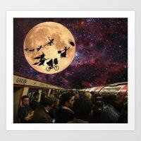 Magic From The Mundane - London Tube Series Art Print