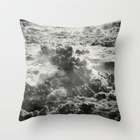 Somewhere Over The Cloud… Throw Pillow
