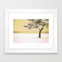 A Winter Moment Framed Art Print