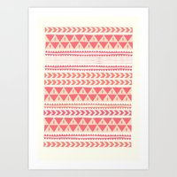 Winter Stripe II Art Print