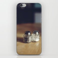 SALT & PEPPA iPhone & iPod Skin