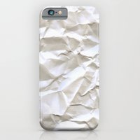 pixel iPhone & iPod Cases featuring White Trash by pixel404