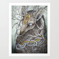 forest Art Prints featuring In Memory, as a print by Caitlin Hackett