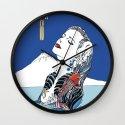 Onsen Wall Clock