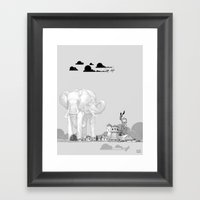Store Toxic Waste At Hom… Framed Art Print