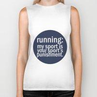 My Sport Is Your Sports … Biker Tank