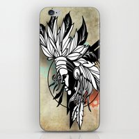 Native Girl Design iPhone & iPod Skin