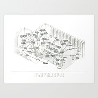 The Unfinished Library Art Print