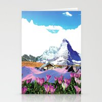 Experiment Am Berg 27 Stationery Cards
