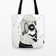 Zombie Kid 2.0 (Black An… Tote Bag