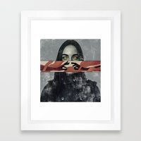 The Romantic. Framed Art Print