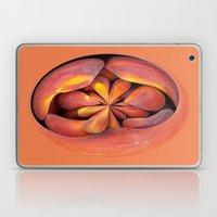 Peach In The Globe 2 Laptop & iPad Skin