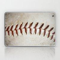 Vintage Baseball Stitching Laptop & iPad Skin