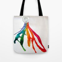 Rainbow Spill Tote Bag