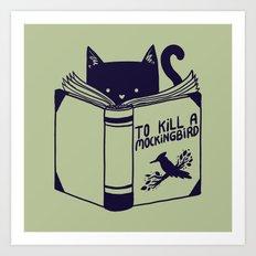 How To Kill a Mockingbird Art Print