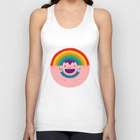 Rainbow Kid Unisex Tank Top