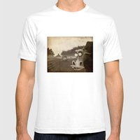 A Morning Without Sun Mens Fitted Tee White SMALL