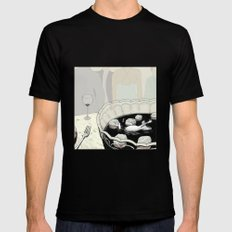 A Rat in a Punch Bowl Mens Fitted Tee Black SMALL