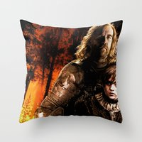 Game Of Thrones: The Hou… Throw Pillow