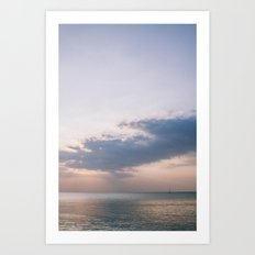 Phuket Island Sunset Art Print