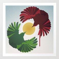 Wrens Art Print