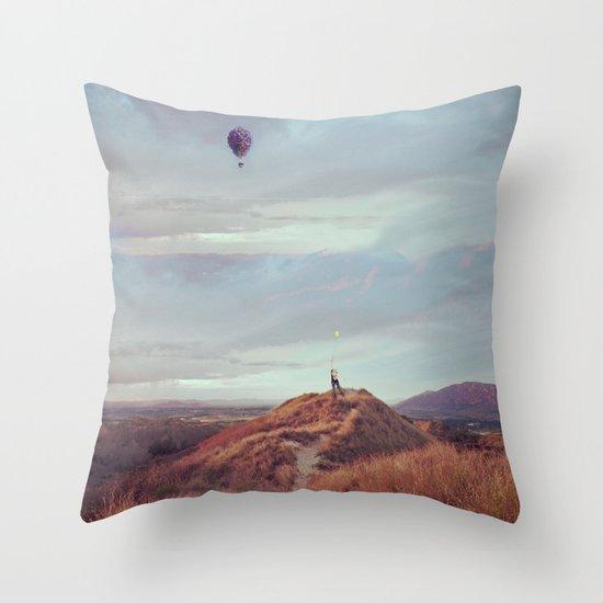 Waltz for Ellie Throw Pillow